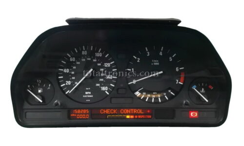 BMW E32 E34 instrument cluster repair