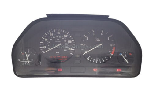 BMW E34 instrument cluster repair