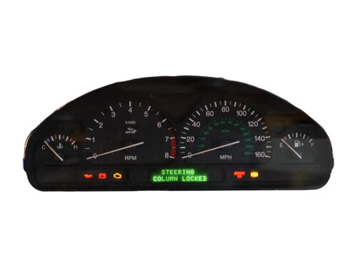 Jaguar S-Type instrument cluster repair