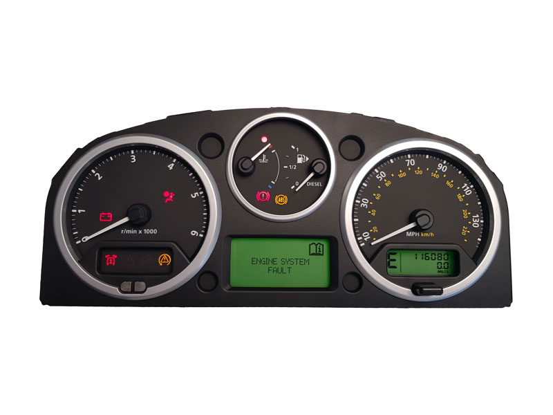 Land Rover Discovery 3 instrument cluster repair