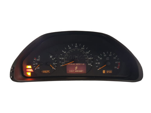 MB W210 instrument cluster repair