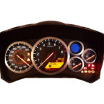 Nissan Skyline R34 instrument cluster repair