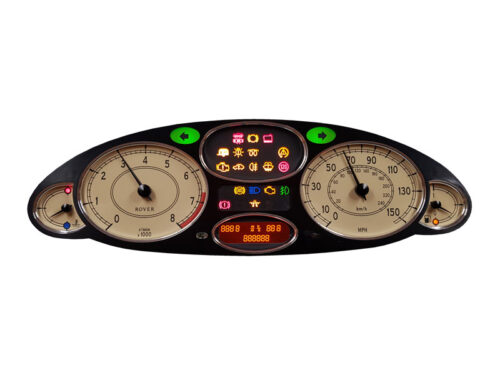 Rover 75 instrument cluster repair