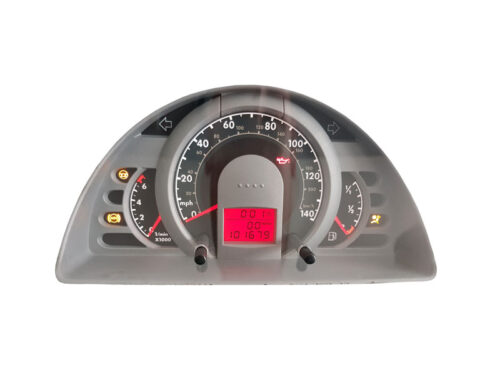 VW Fox instrument cluster repair